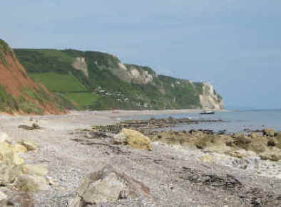 The Branscombe coast