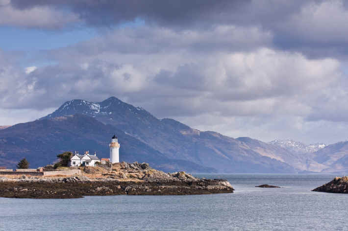Lighthouse on the Isle of Skye
