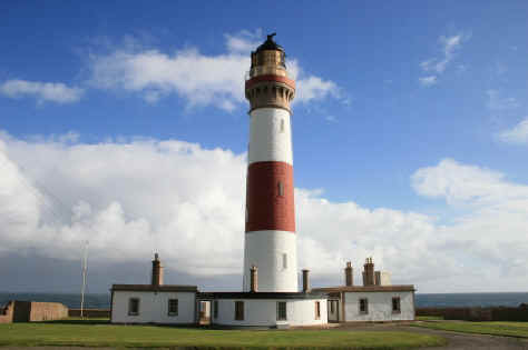 Peterhead lighthouse north east Scotland