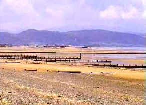 Rhyl Beach North Wales