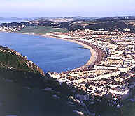 Llandudno from the slopes of the Great Orme